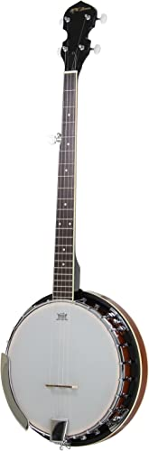 Jameson Guitars 5-String Banjo 24 Bracket with Closed Solid Back and Geared 5th Tuner