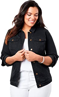 plus size jean jacket