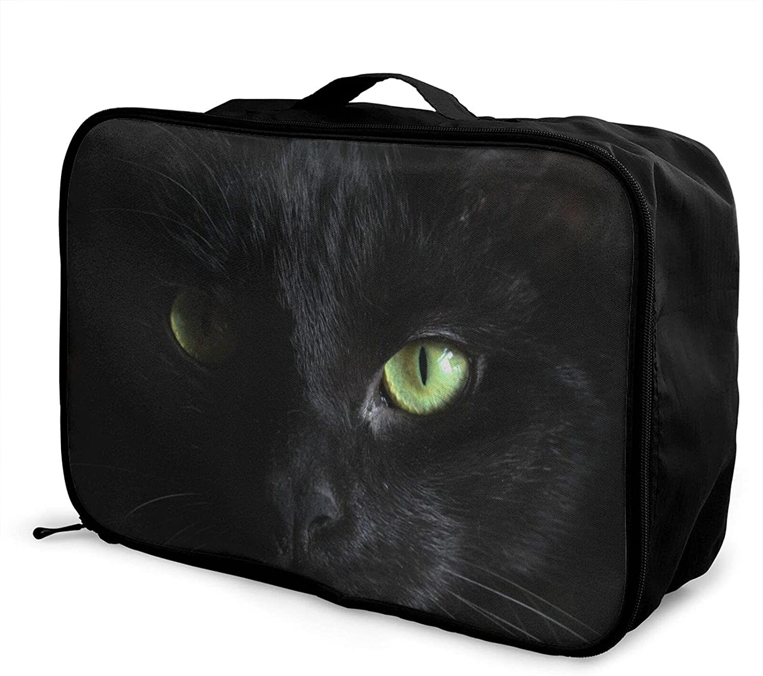 Foldable Travel Sacramento Mall Bag Tote Cat Camouflage D Face Be super welcome Eye Carry-On
