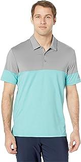 [adidas(アディダス)] メンズタンクトップ?Tシャツ Ultimate 3-Stripes Heather Blocked Polo [並行輸入品]