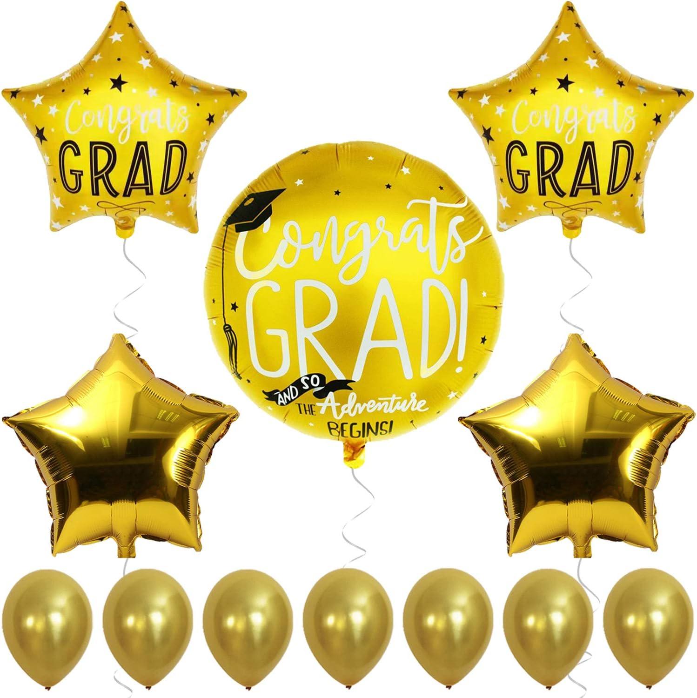 Congratulations High School Graduation 51 Congrats Grad Balloon *Air Only* Graduation Balloons Graduation Party College Graduate Party