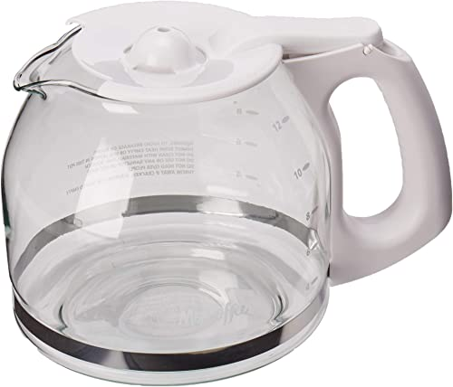 lowest Mr. wholesale Coffee outlet online sale Replacement 12-Cup Glass Carafe, White - online