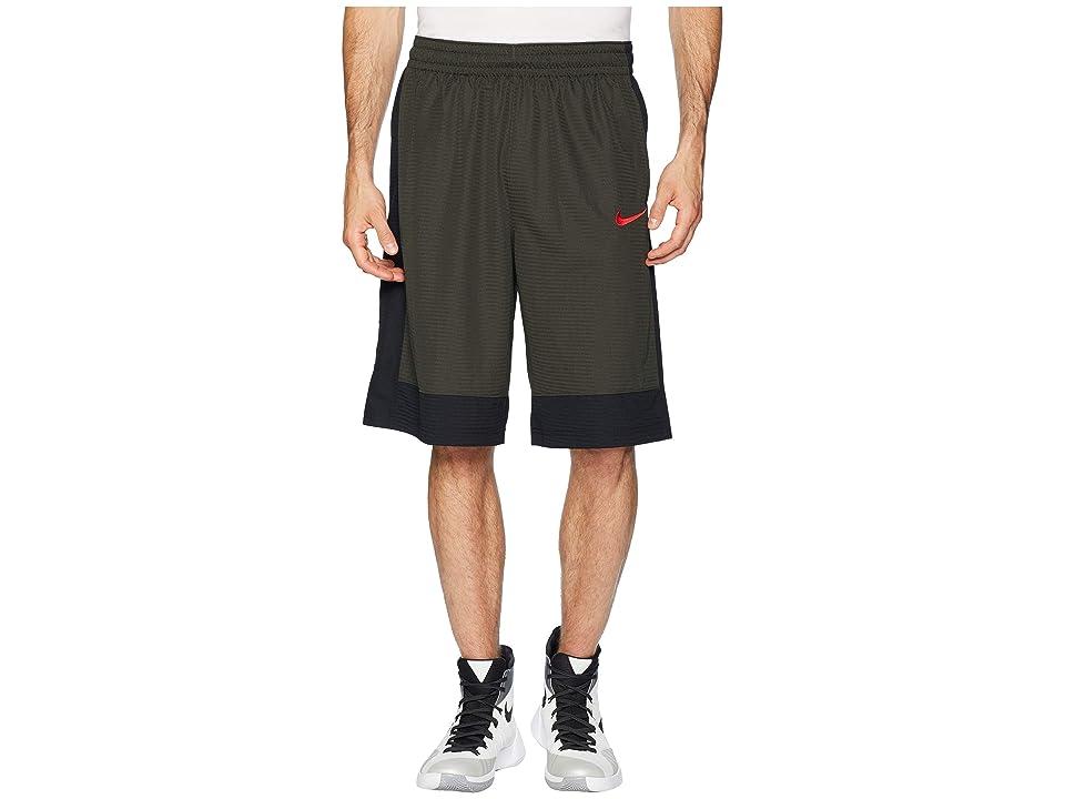 Nike Fastbreak Basketball Short (Sequoia/Black/University Red) Men