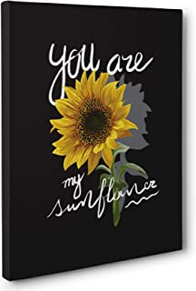 You Are My Sunflower Canvas Wall Art