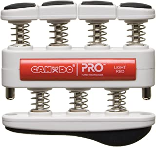 CanDo Pro Hand Exerciser, Light Red