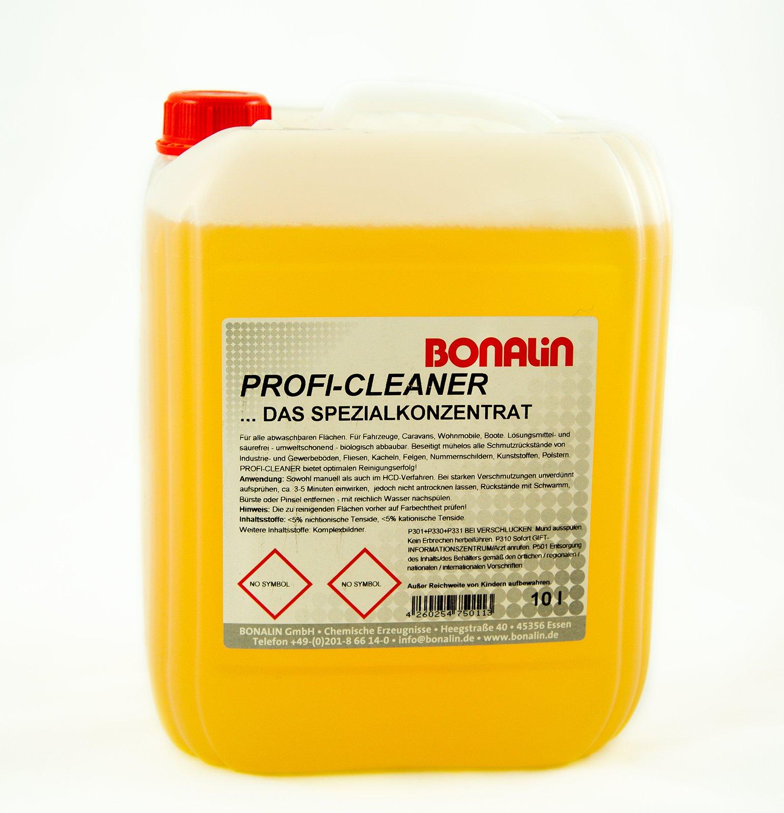 Bonalin - Concentrado especial de limpieza, bidón de 10 l: Amazon ...