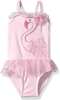 Girls' Little Solo Swim-Toddler-Swan Lake One Piece Swimsuit
