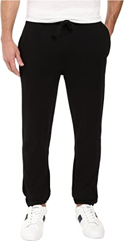 Sport Fleece Pants with Elastic Leg Opening