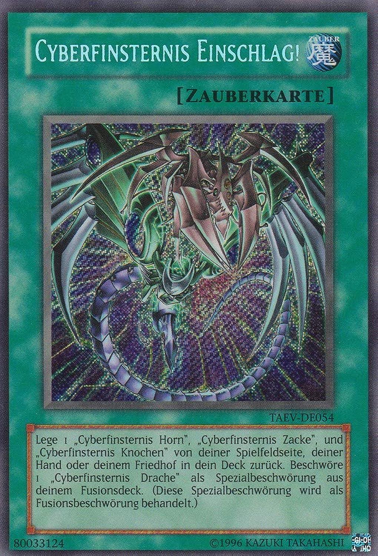 TAEV-DE054 - Cyberfinsternis Einschlag  - Secret Rare - Yu-Gi-Oh - Deutsch - 1. Auflage