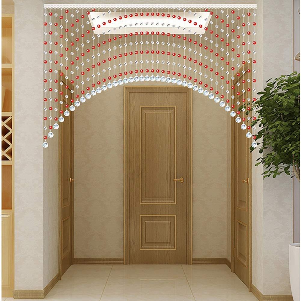 GuoWei-Cortinas de Cuentas Cristal Vaso Puerta Arco Forma Colgante Cuerdas Decoración Tabique, Personalizable (Color : A, Size : 20 strands-70x60cm): Amazon.es: Hogar