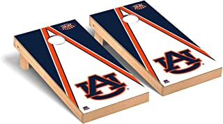 Victory Tailgate Regulation Collegiate NCAA Triangle Series Cornhole Board Set - 2 Boards, 8 Bags - 600+ Teams Available
