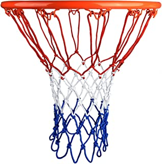 comprar comparacion HOGAR AMO Malla de Baloncesto Set de 2 Red de Baloncesto Nylon 4mm, Malla de Reemplazo Resistente, Malla para Estándard Ca...