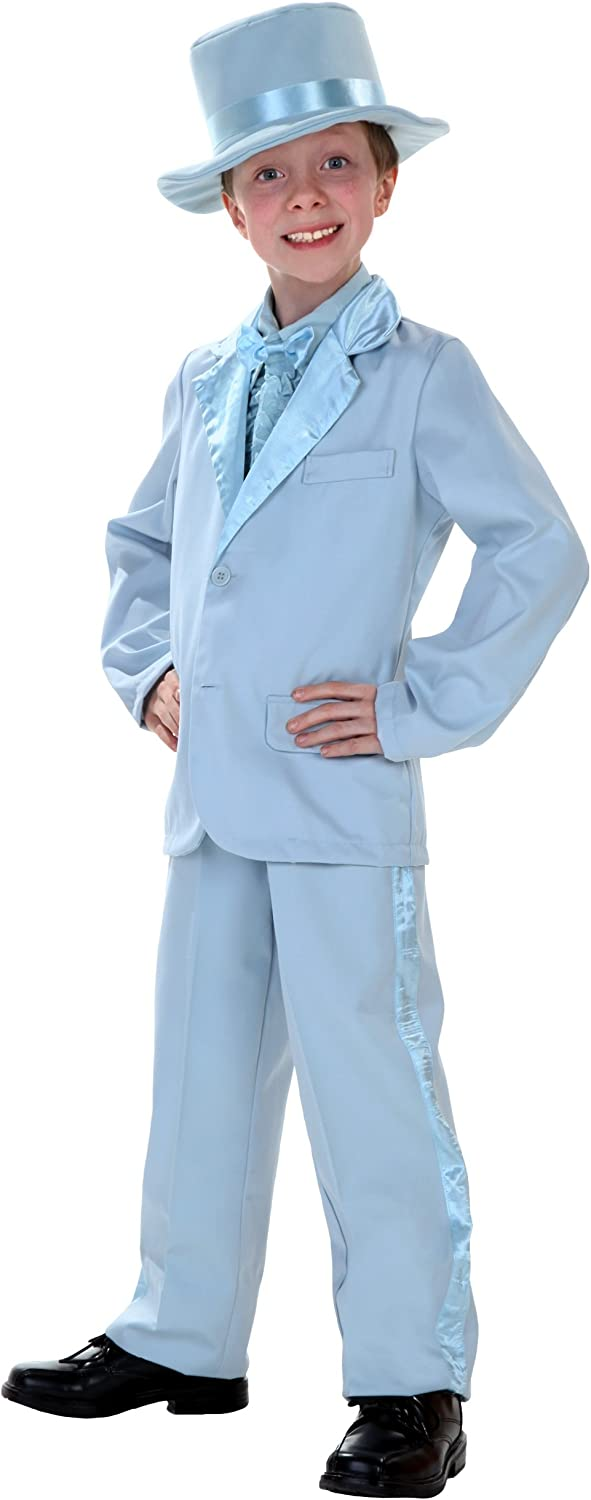 Blue Tuxedo New Shipping Free Costume for Free shipping anywhere in the nation and Boys Kids Girls
