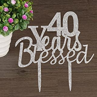Best blessed 40th birthday Reviews