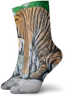 Tigre allongé pour homme//femme chaussettes