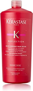 Kerastase Reflection Bain Chromatique Riche Multi-Protecting Shampoo by Kerastase for Unisex - 34 oz Shampoo, 1020 milliliters