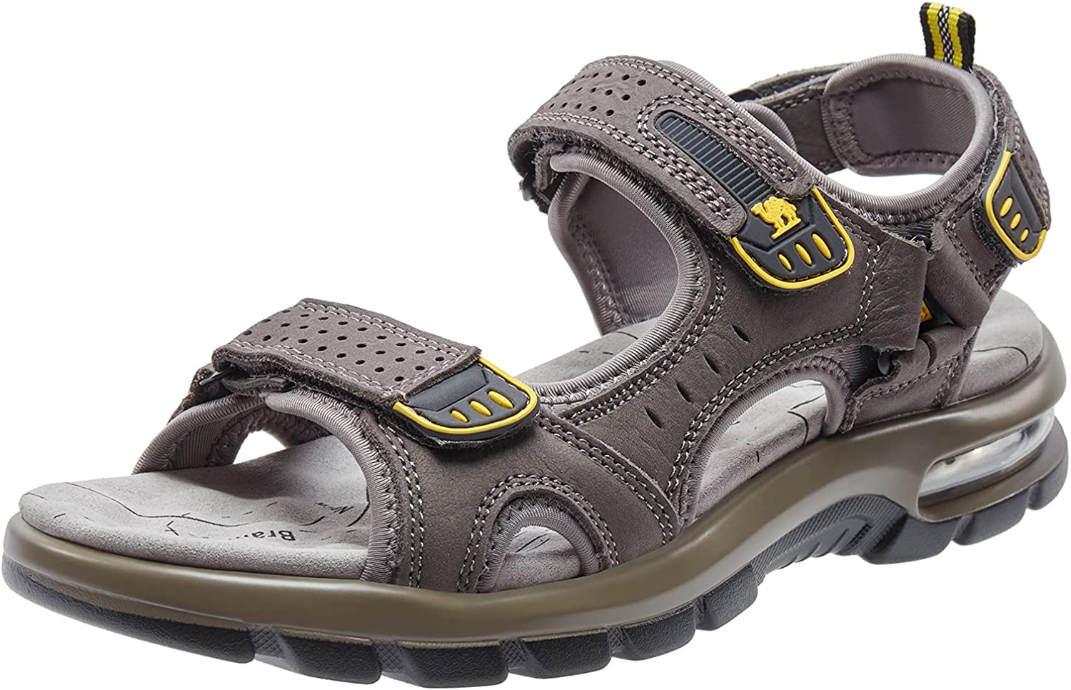 CAMEL CROWN Men's Leather Sandals Hiking Beach for Same day shipping Tread Walking High quality