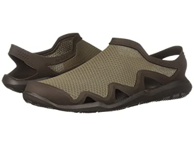 Crocs Swiftwater Mesh Wave (Walnut/Espresso) Men