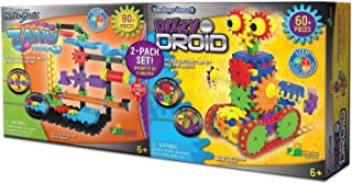 Techno Gears Marble Mania Zany Trax 4.0 Action Packed Marble Maze with A Spriral Lifter! 80+ Pieces