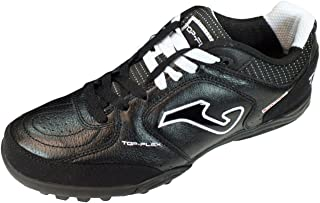 Joma TOPW_301_PT TOP Flex 301 Turf Soccer Shoes Black-White Calcetto Scarpa
