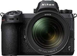 Nikon Z6 FX Format Mirrorless Camera with Nikkor Z 24-70mm f/4 S Lens (Black)