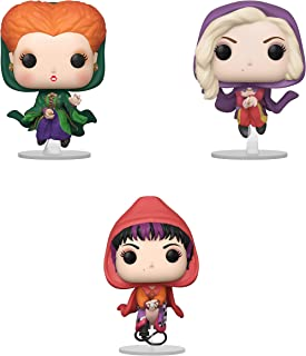 Funko Disney: POP! Hocus Pocus Collectors Set 2 - Winifred Flying, Sarah Flying, Mary Flying
