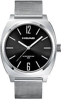 Head Reloj Analógico para Unisex Adultos de Cuarzo con Correa en Acero Inoxidable HE-010-03