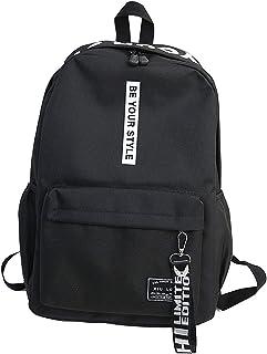 ZumZup للجنسين حقائب مدرسية كاجوال Daypacks حقيبة ظهر للحاسوب المحمول حقيبة بسيطة للطلاب حقيبة ظهر نسائية