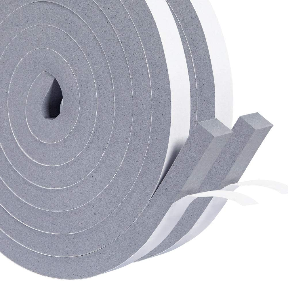 HADOR Gray Windows Insulation Limited time sale Seal OFFicial Tape Inch X 1 Wide 2