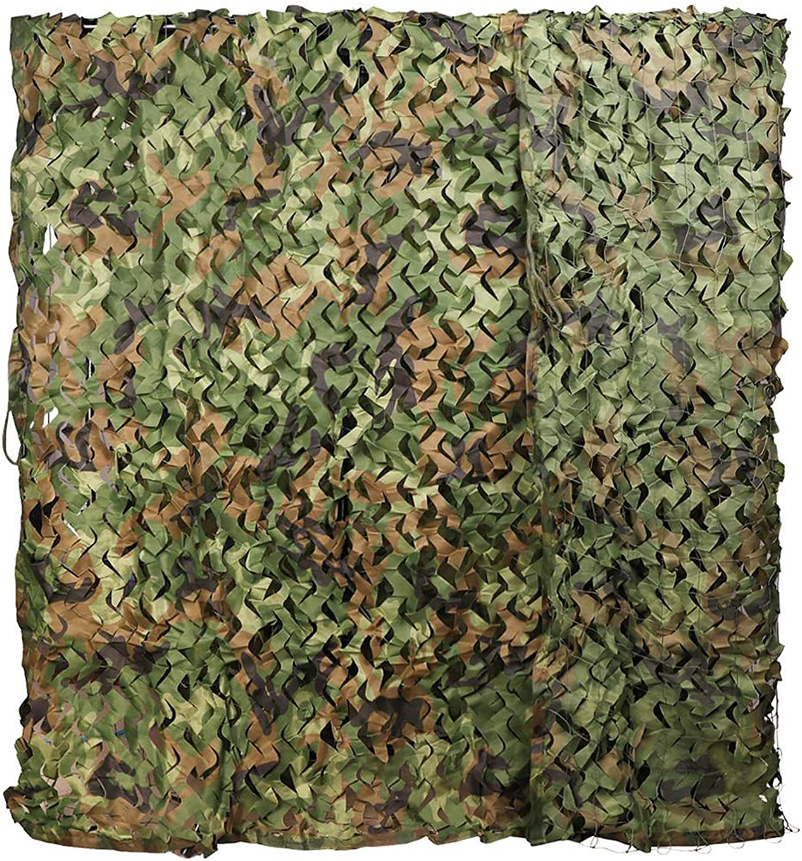 ACZZ Tarpaulin Woodland Tarnnetz Oxford Polyester UV-Bestendig Schatten Camo Netting Jagd Camping Blind Hide Armee Sonnenschutz Dekoration,4 M × 4 M