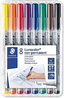 Lumocolor 316 WP8 ST Foliepenna, 8st, Flerfärgad