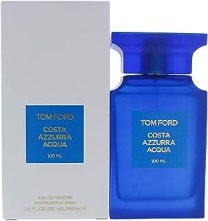 Tom Ford Costa Azzurra Acqua for Men Eau De Toilette Spray, 3.4 Ounce