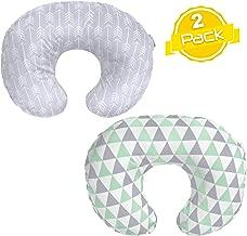 Minky Nursing Pillow Cover Set   Breastfeeding Pillow Slipcover for Nursing Moms   2 Pack  