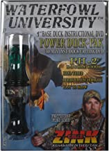 Waterfowl University Power Duck-pak Black & Green Duck Calling DVD ~ Zink Calls