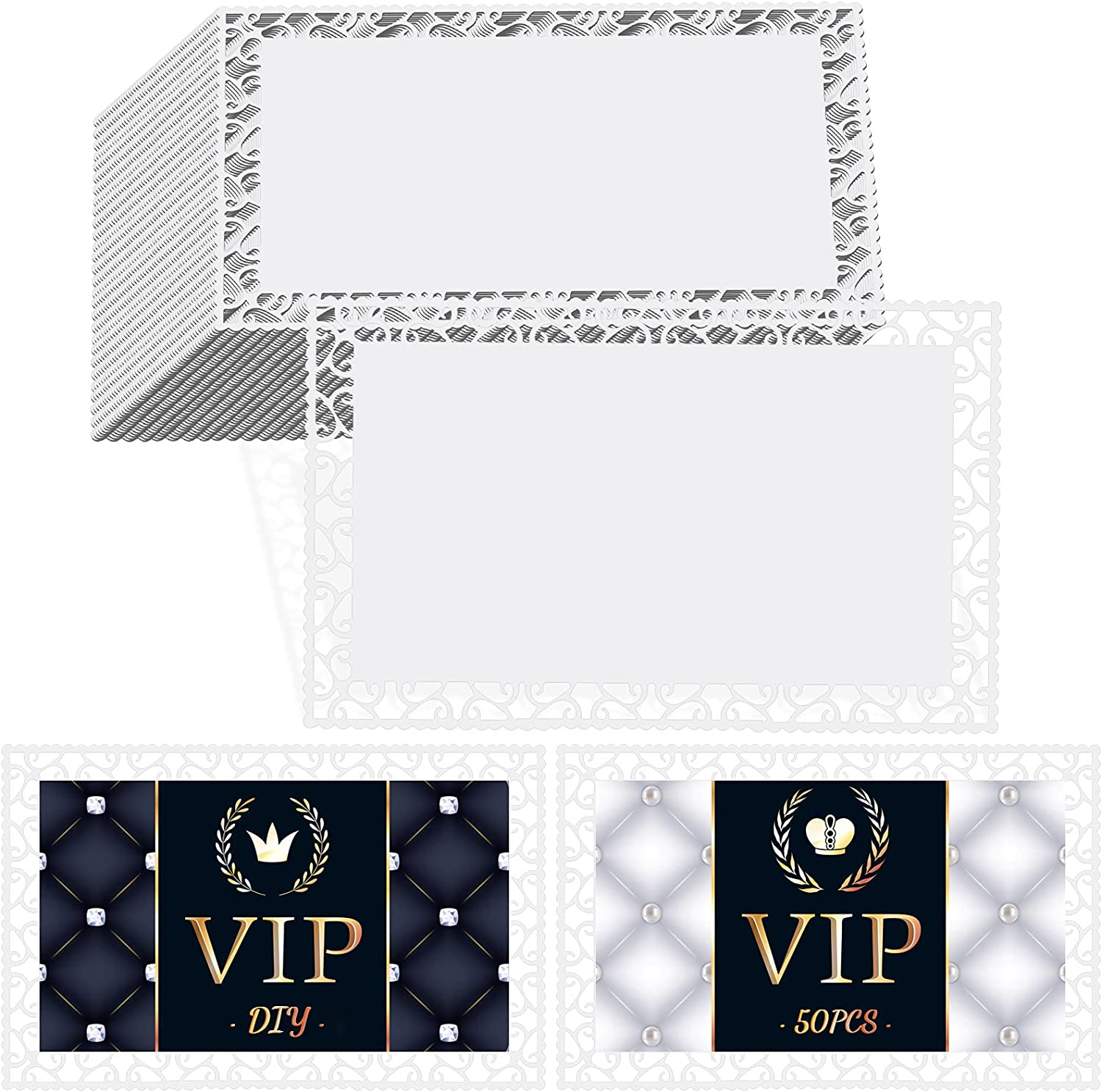 50 Pieces Sublimation Metal Super popular specialty Today's only store Business Nam Cards