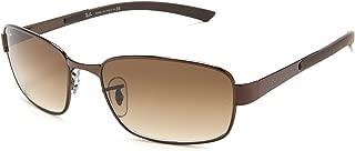 Ray-Ban RB3413 Rectangular Sunglasses 59 mm, Non-Polarized