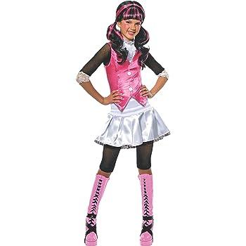 Monster High - Disfraz de Draculaura para niña, infantil 5-7 años ...