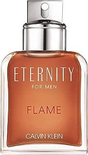 Calvin Klein Eternity Flame for Men Eau de Toilette for Men, 100ml