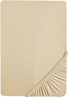Biberna Drap housse en jersey stretch 100% coton, très doux et extensible, pour un lit simple de 90 x 190 cm à 100 x 200 c...