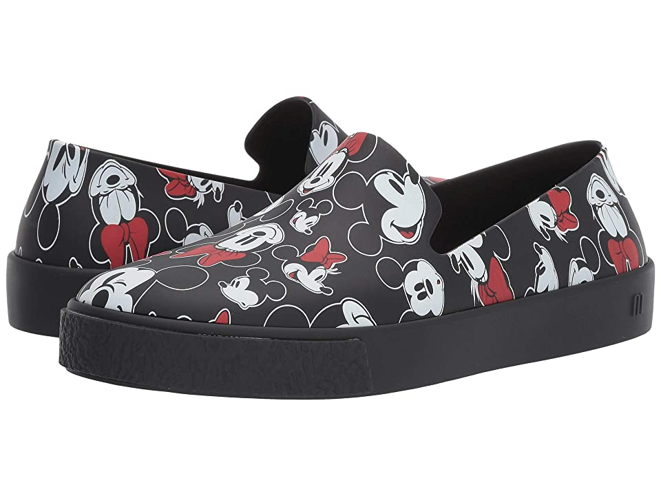 Melissa Shoes Ground + Mickey (Black) Women