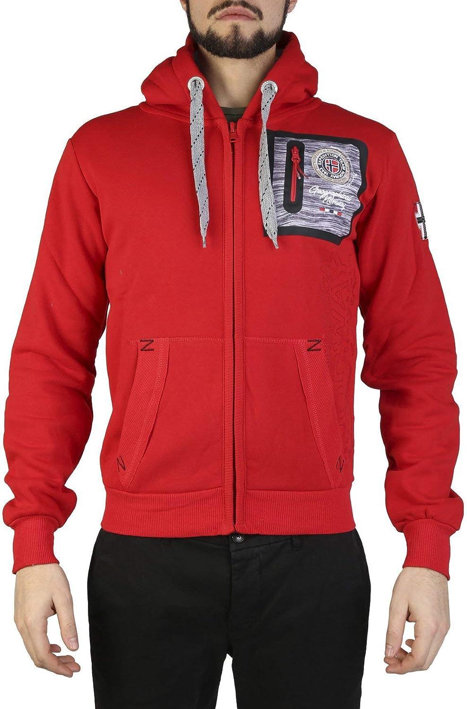 029943e2 Geographical Geographical Geographical Norway Fitor Men Red Sweatshirts  d9c7f4