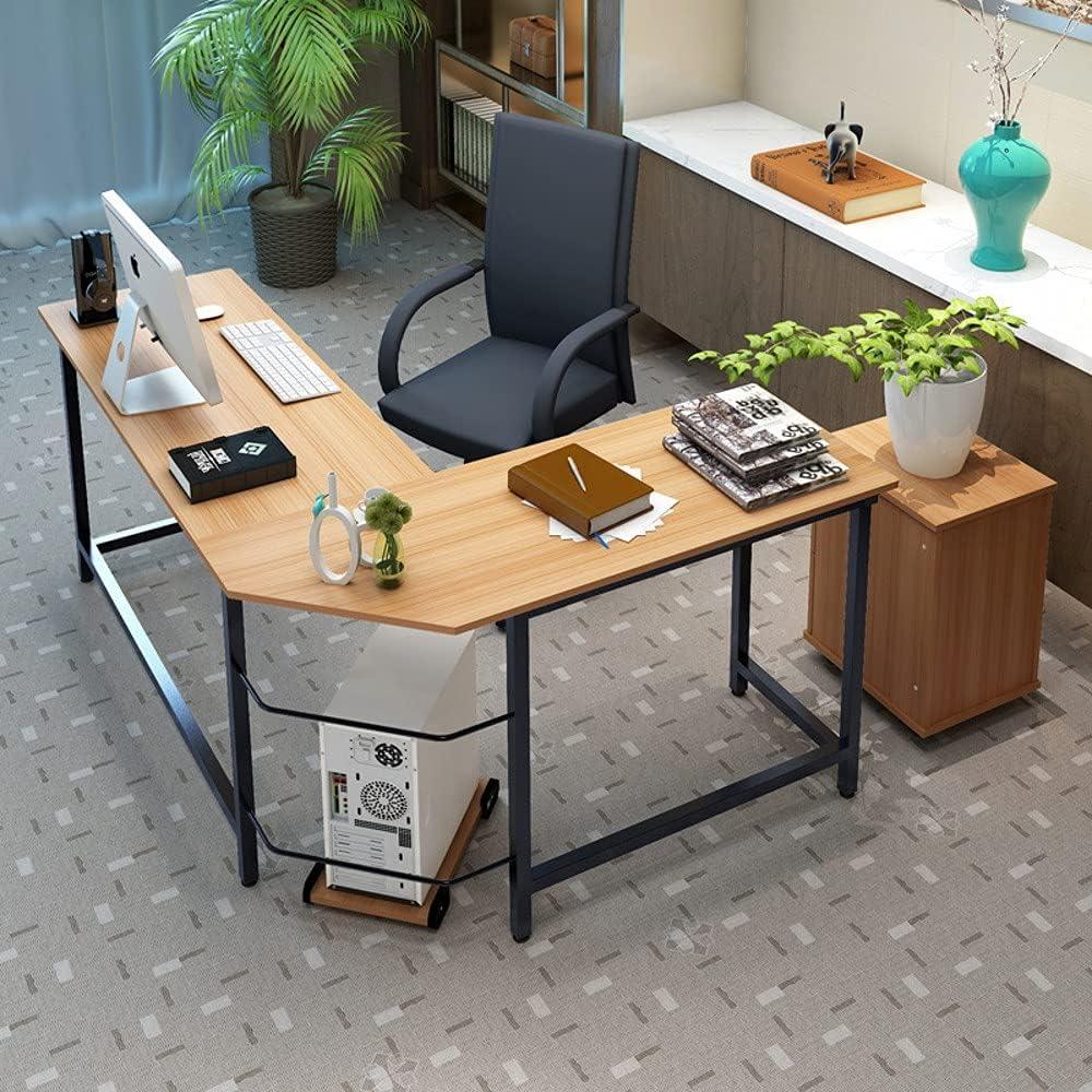 SoSo-BanTian1989 Max 62% 2021 model OFF Modern L-Shaped Desk with Corner Computer