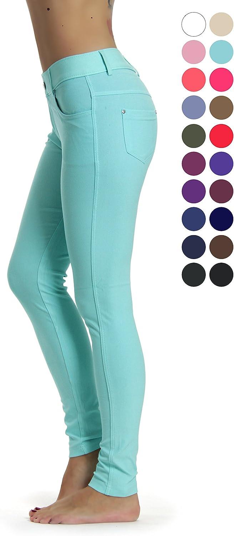 Prolific Health Women's Jean Look Jeggings Tights Slimming Many colors Spandex Leggings Pants Capri SXXXL
