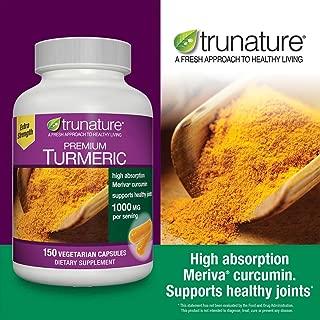 trunature® Premium Turmeric 1000 mg, 150 Vegetarian Capsules (150 Capsules)