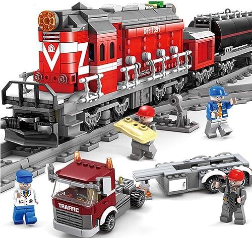 Yyz 1002pcs Technic série Emerald Night Train modèle Building Kits Bloc Briques Jouets pour Enfants Cadeau Train