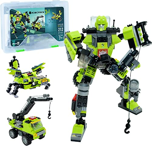 high quality Robot STEM Toy | 3 in 1 Fun Creative Set | Construction Building Toys for Boys and Girls discount Ages 6-14 Years Old | Best Toy discount Gift for Kids | Free Poster Kit Included sale