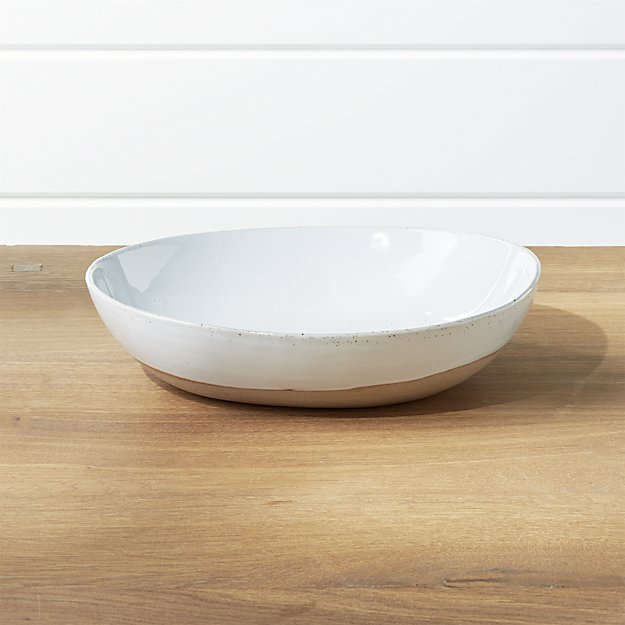 Welcome Small Serve Bowl | Crate and Barrel