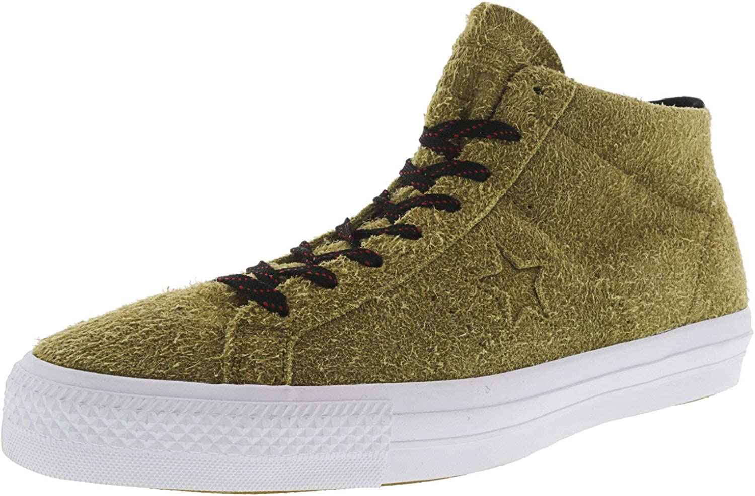 Converse One Star Pro Suede Mid Mid-Top Fashion Sneaker
