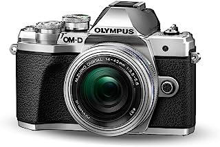 Olympus OM-D E-M10 Mark III Kit, Micro Four Thirds systemkamera (16 megapixlar, bildstabilisator, elektronisk sökare, 4K-v...
