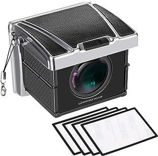 Neewer ユニバーサルカメラファインダー 多重倍率 Sony A7II/RX100/A9/RX1、Canon 6D Mark II/7DMarkII/77D/800/ D1DX/1DXII/5DIII、Nikon D5/D850/D7200および他のDSLRカメラに対応